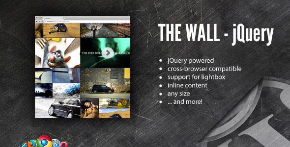 The Wall - Media Gallery - WordPress Plugin