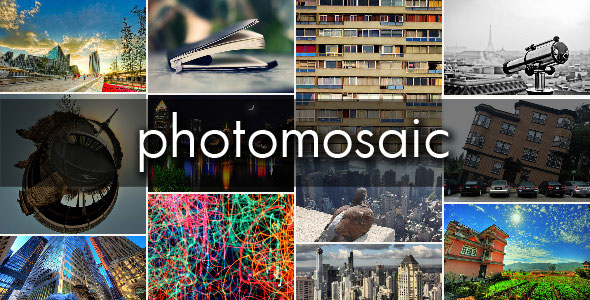 PhotoMosaic for WordPress