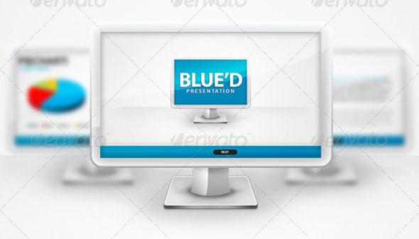 Blue'd Keynote Presentation