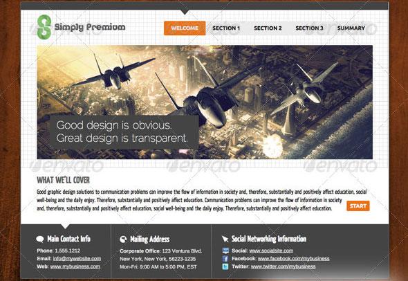 Simply Premium 3 – Keynote Presentation