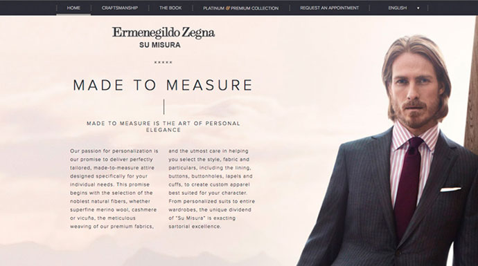 Ermenegildo Zegna – Made to measure
