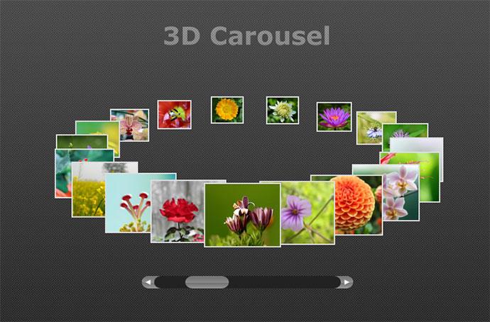 website design carousel