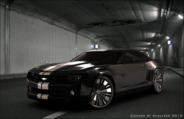 Camaro - Tunnel render