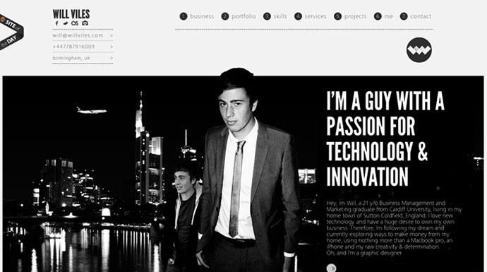 Will Viles Personal Site & Graphic Design Po