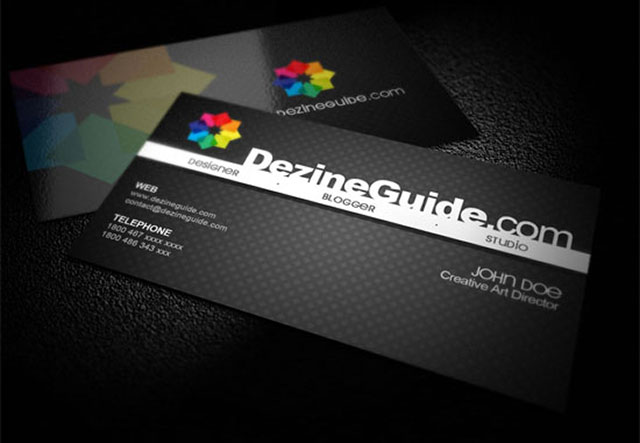 300 Free PSD Business Card Templates | Web & Graphic Design | Bashooka