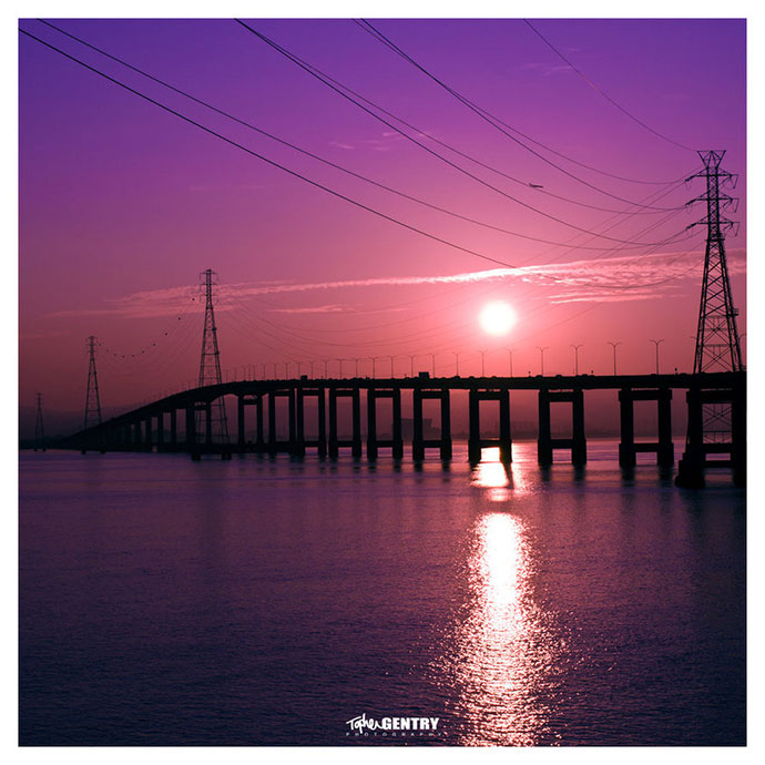 Day 10 - Project 366 - San Mateo Bridge.