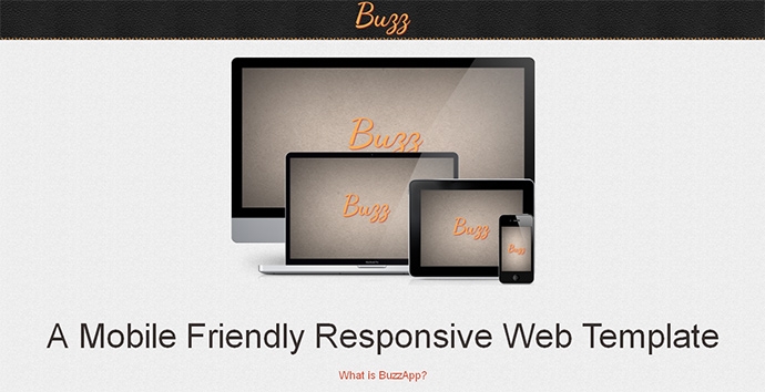 Free Responsive Web Template for Download