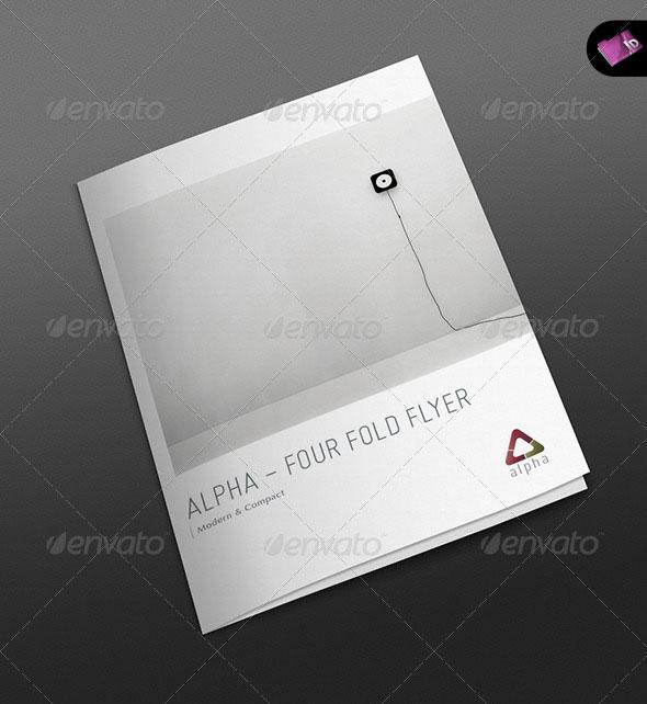 Alpha Series - Four Fold Pocket Flyer