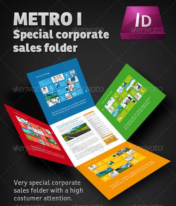 Metro I Sales Folder