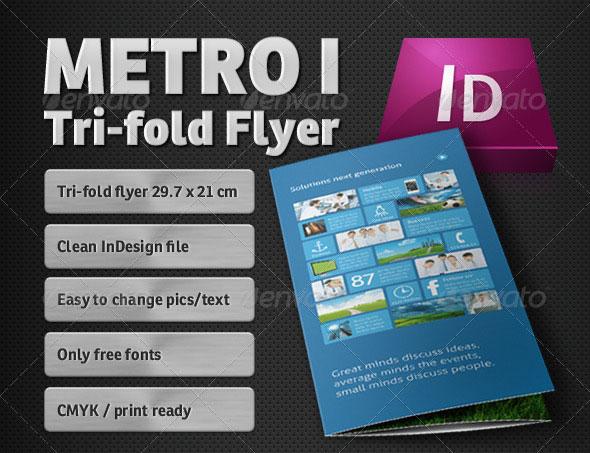 Metro Tri-fold Flyer