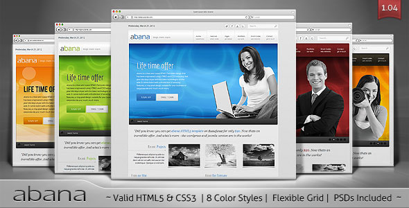 abana - Premium Business HTML5 Template
