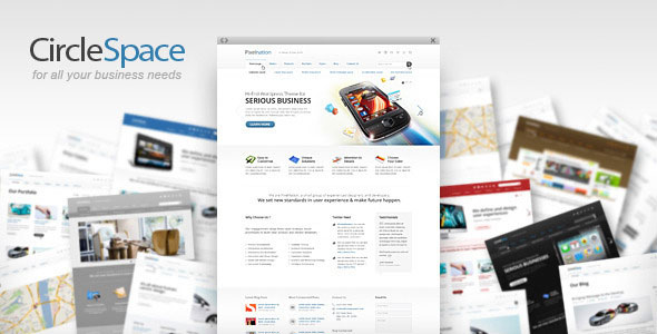 CircleSpace - business theme