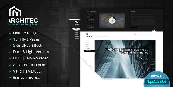 Architec - Architecture HTML Template