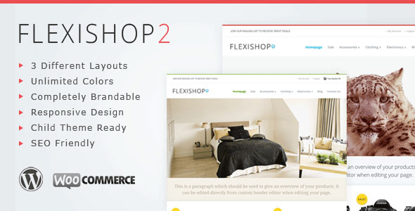 WP Flexishop 2  A Flexible WooCommerce Theme