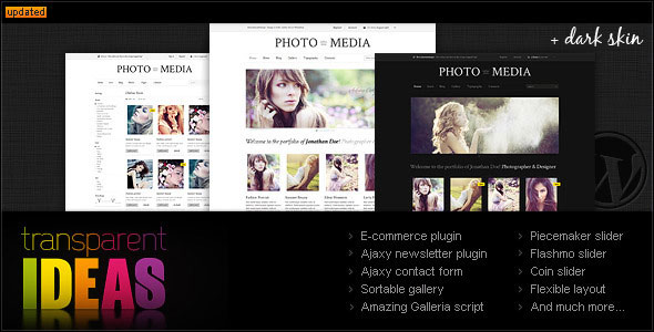 Phomedia WordPress Theme  A WP ECommerce theme