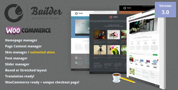The Builder  Multipurpose WordPress Theme