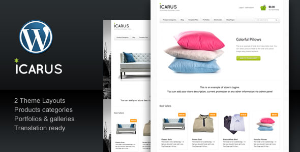 Icarus Business eCommerce Theme