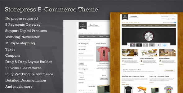 StorePress  Premium WordPress Ecommerce Theme