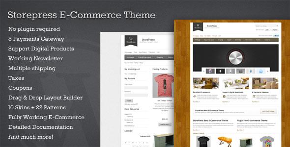StorePress  Premium WordPress Ecommerce Theme