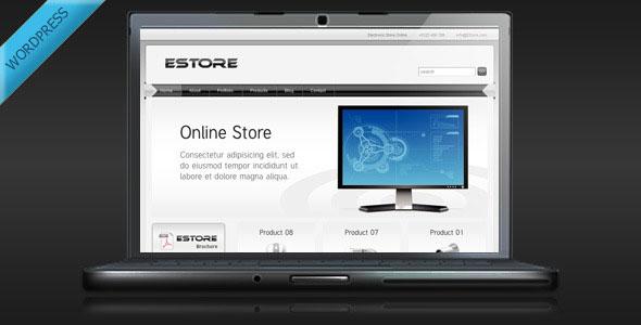 EStore  Online Store WordPress Theme