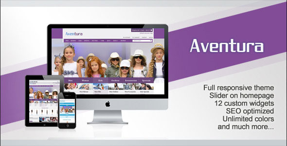 Aventura WordPress  eCommerce Theme