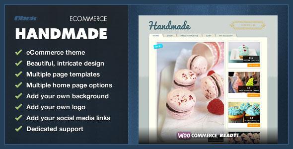 Handmade  WordPress eCommerce Theme