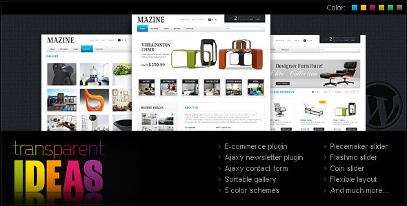 Mazine WordPress Theme  A WP ECommerce theme