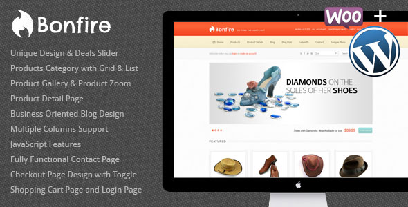 Bonfire  WordPress eCommerce Theme