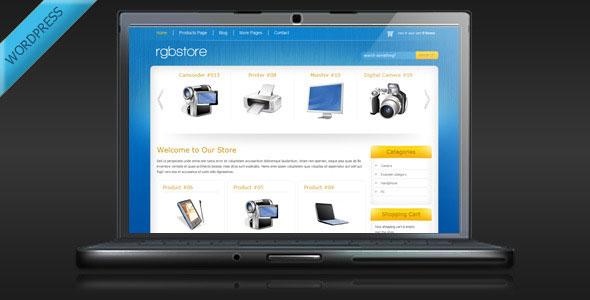 RGBStore  Online Store WordPress Theme