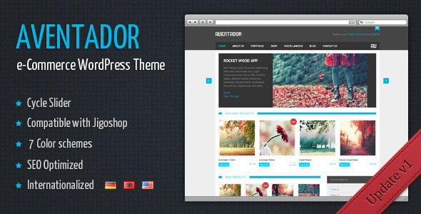 Aventador  WordPress eCommerce Theme