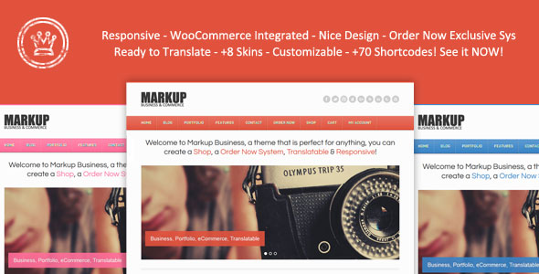 Markup Business WordPress Premium Theme
