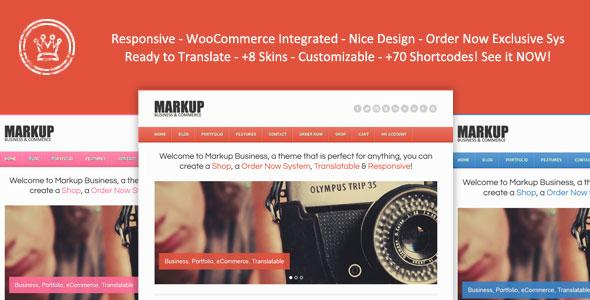 Markup Business WordPress Premium Theme