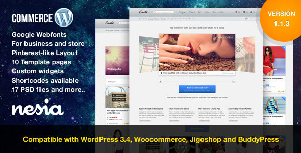 Commerce  Versatile & Responsive WordPress Theme