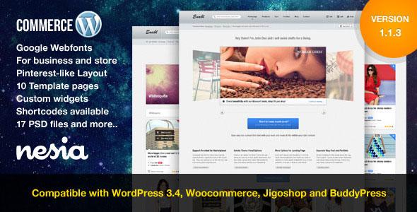 Commerce  Versatile & Responsive WordPress Theme