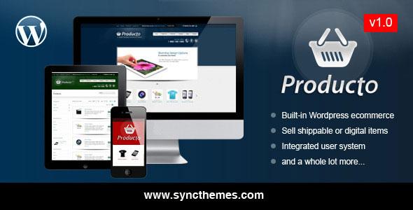 Producto WordPress Ecommerce Theme