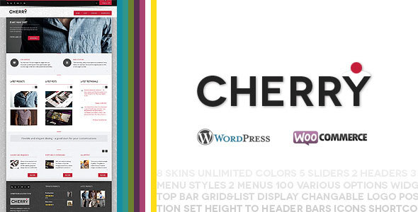 Cherry  responsive ecommerce theme for WP
