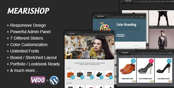Mearishop  a Clean Responsive Ecommerce Theme