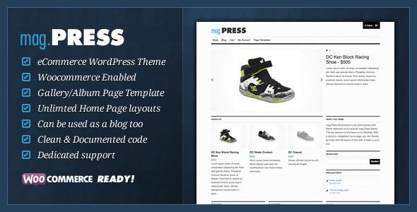 mag.Press eCommerce  WordPress Theme