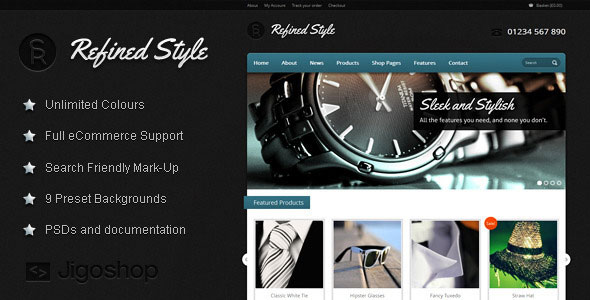 Refined Style  WordPress eCommerce Theme