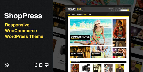 ShopPress: Responsive WooCommerce WordPress Theme