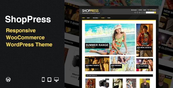 ShopPress: Responsive WooCommerce WordPress Theme