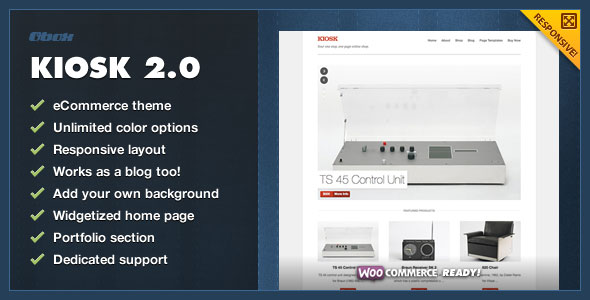 Kiosk 2.0  Premium WordPress eCommerce Theme