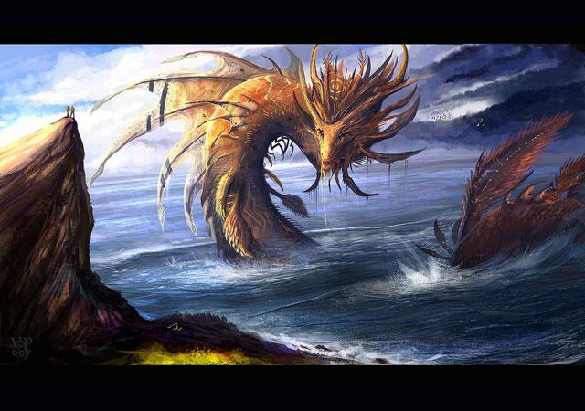 25 Super Amazing Digital Drawings Of Fantasy Creatures ... - photo#5