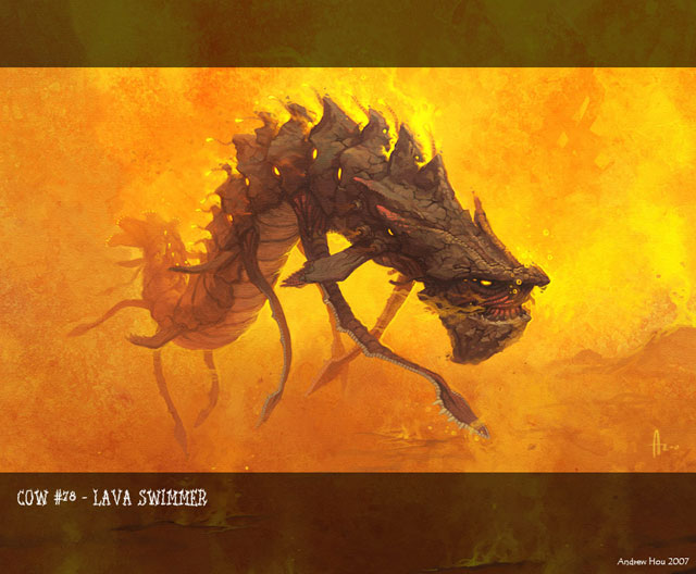 Lava Swimmer