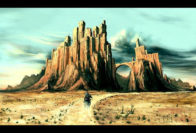 Towards the Forsaken Fortress