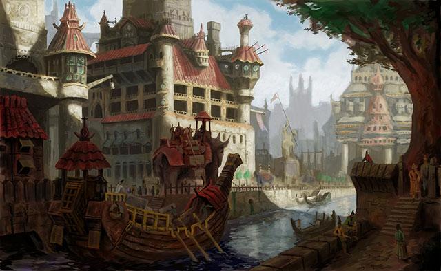 Fantasy Village House