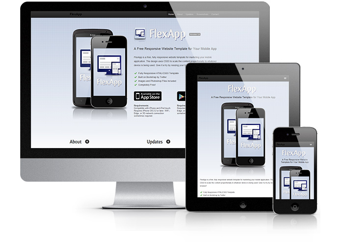 24 Free Responsive Website HTML Templates Web Graphic Design
