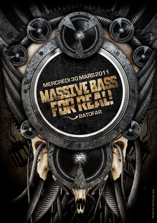 Massive Bass For Real by donanubis