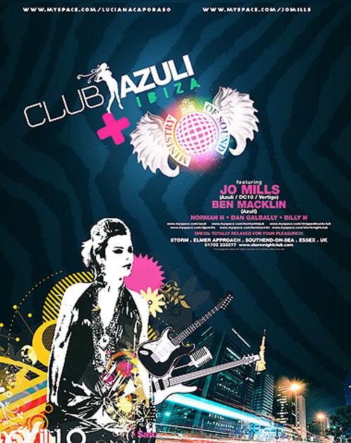 azuli + mos poster