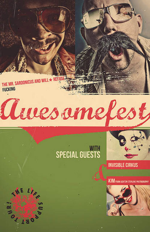 Awesomefest Flyer Vl by Victor